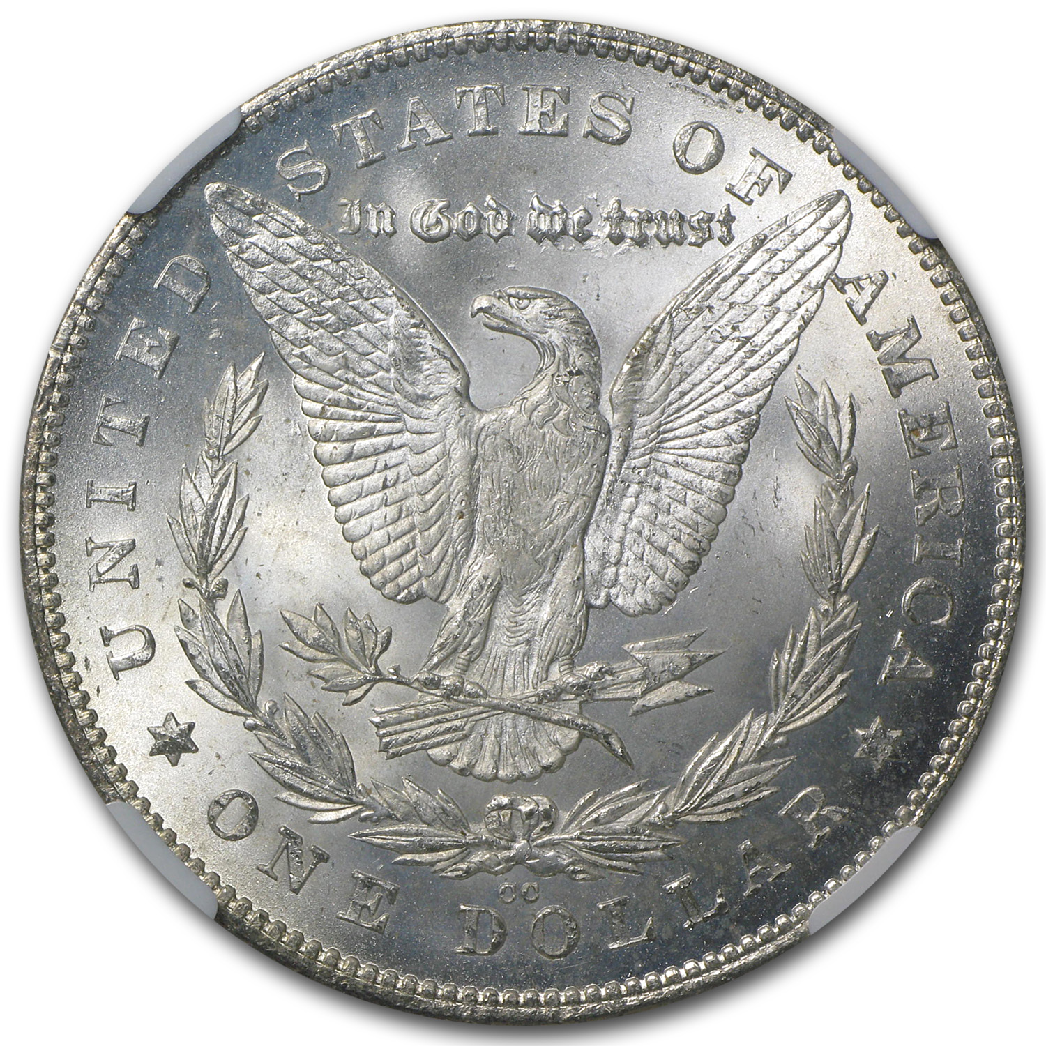 1880-CC Morgan Dollar Rev of 78 MS-65 NGC