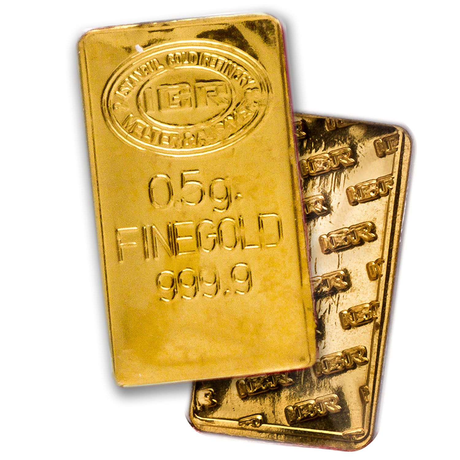 1/2 gram Gold Bars - Happy Valentine's Day (In Assay)