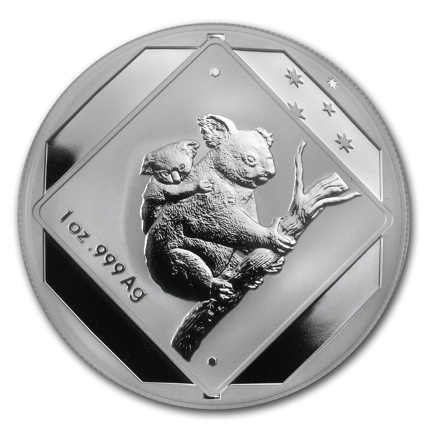 2014 Australia 1 oz Silver Koala Road Sign