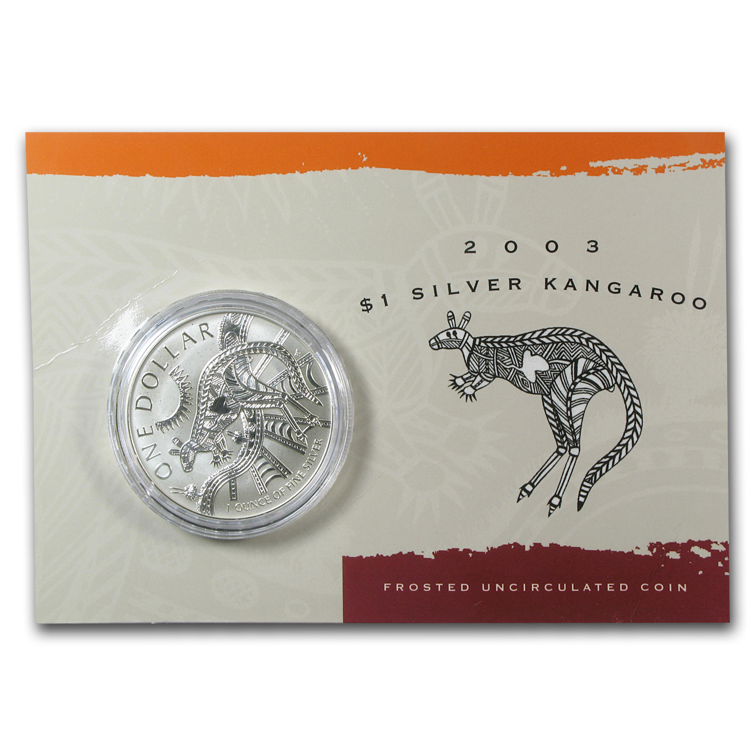 1993-2014 22-Coin 1 oz Silver Kangaroo Set BU (Display Cards)