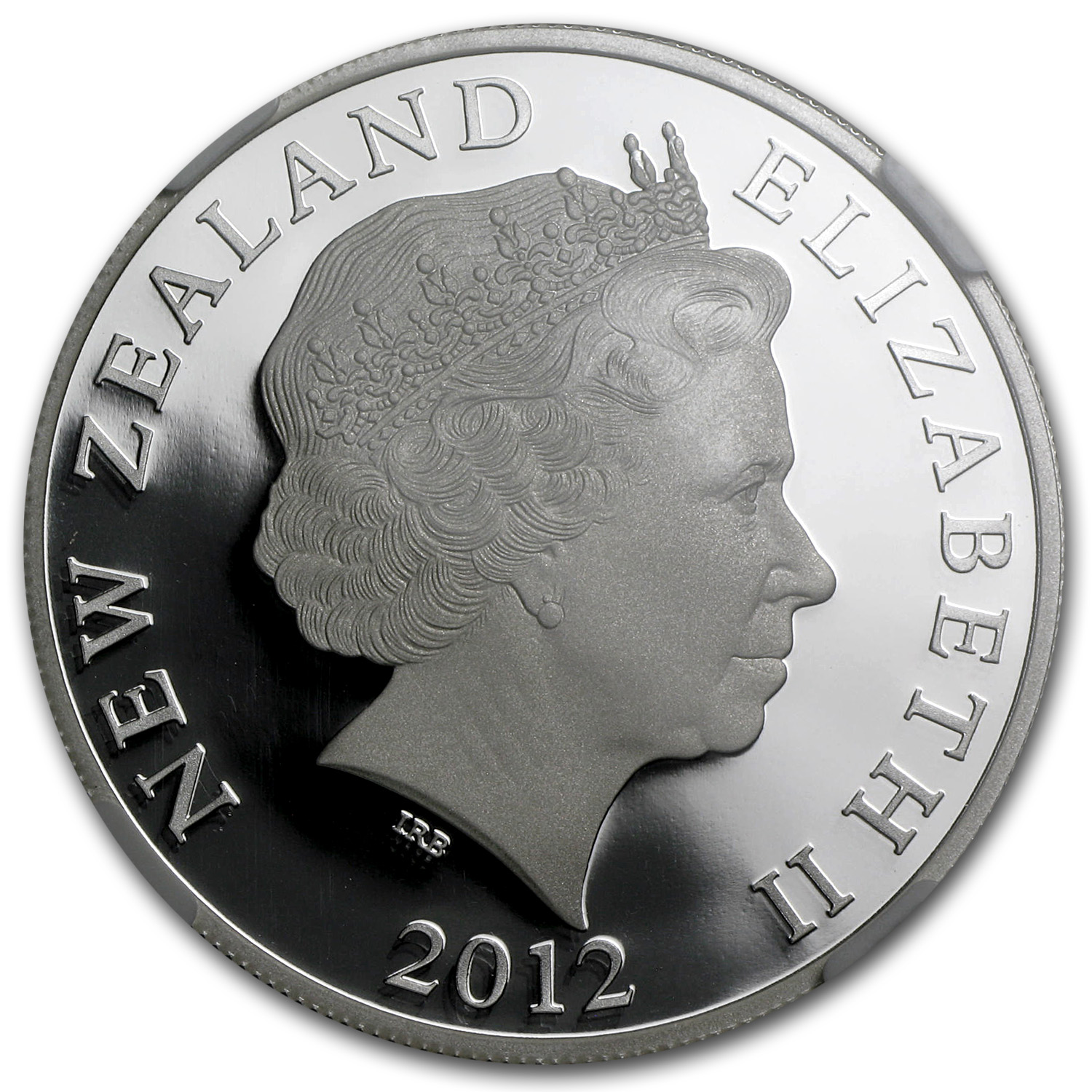 2012 New Zealand 1 oz Silver $1 Elrond PF-70 NGC