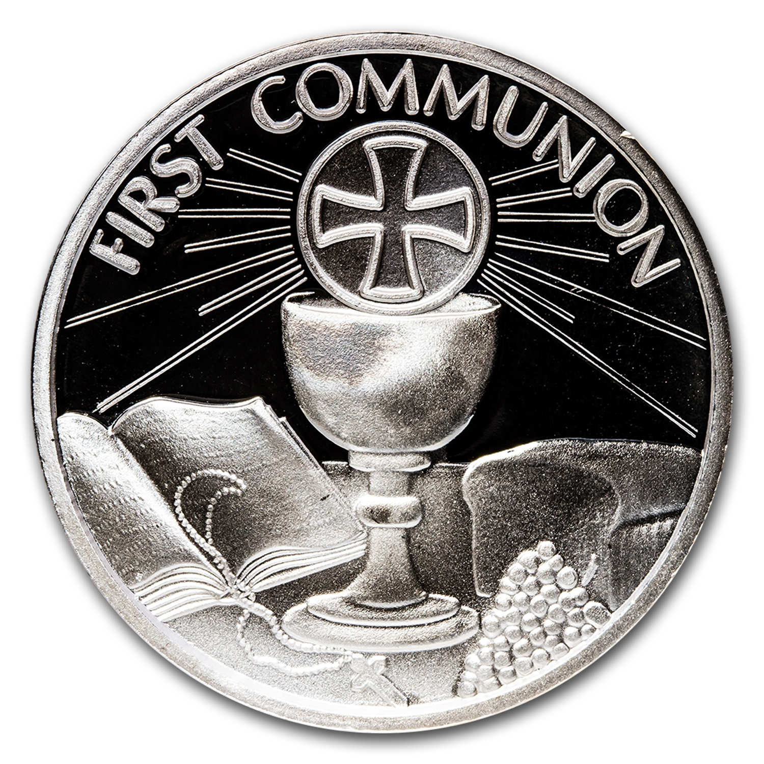2014 1 oz Silver Rounds - Communion (w/Box & Capsule)