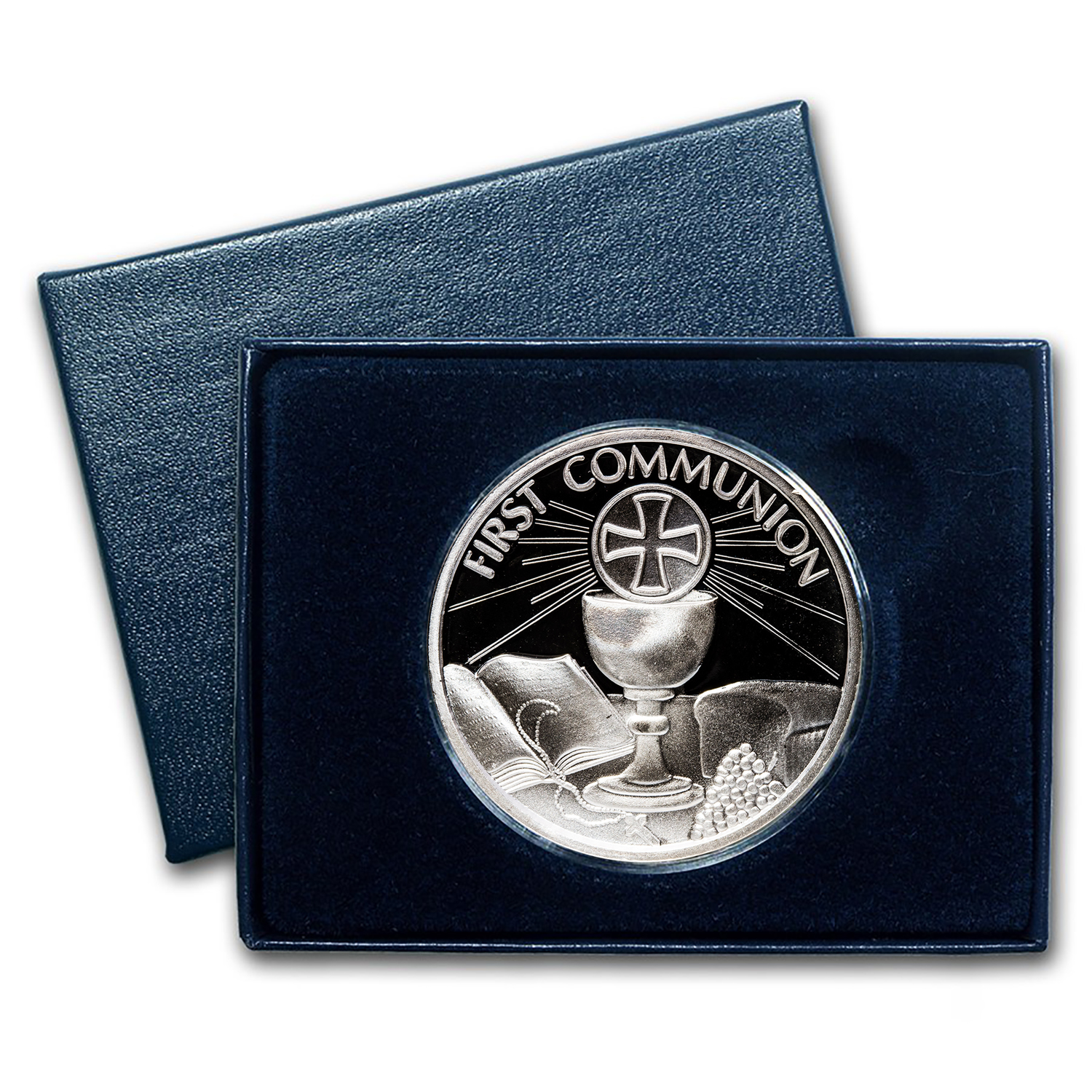 2014 1 oz Silver Round - Communion (w/Box & Capsule)