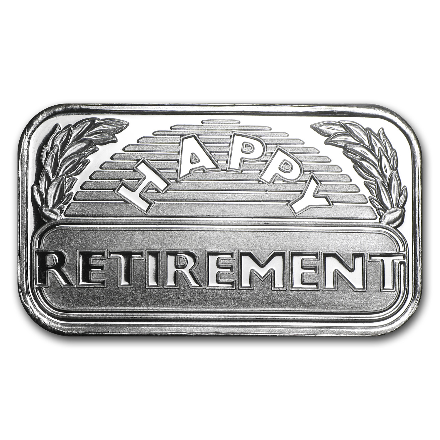 1 oz Silver Bars - 2014 Happy Retirement (w/Box & Capsule)