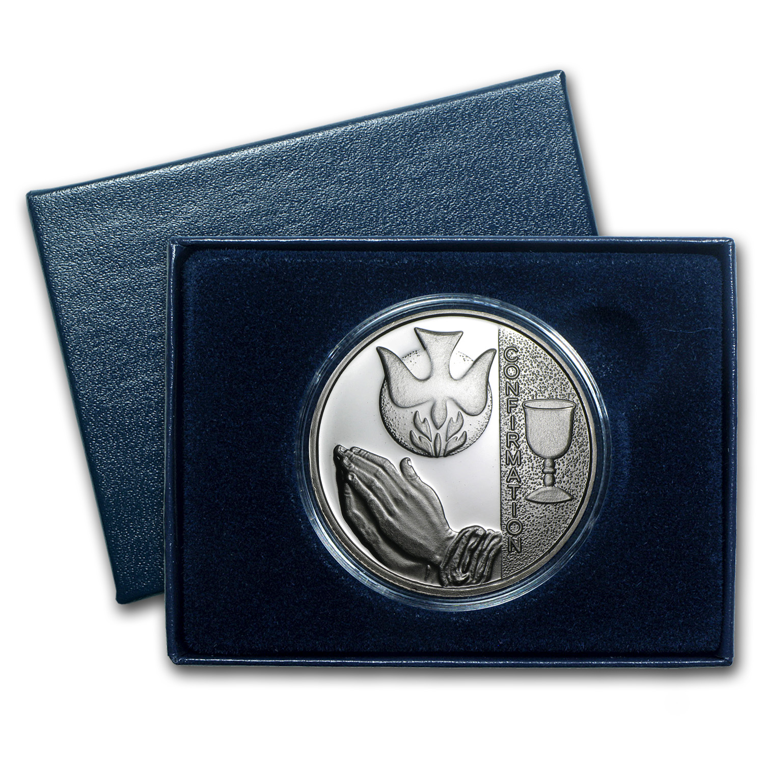 2014 1 oz Silver Rounds - Confirmation (w/Box & Capsule)