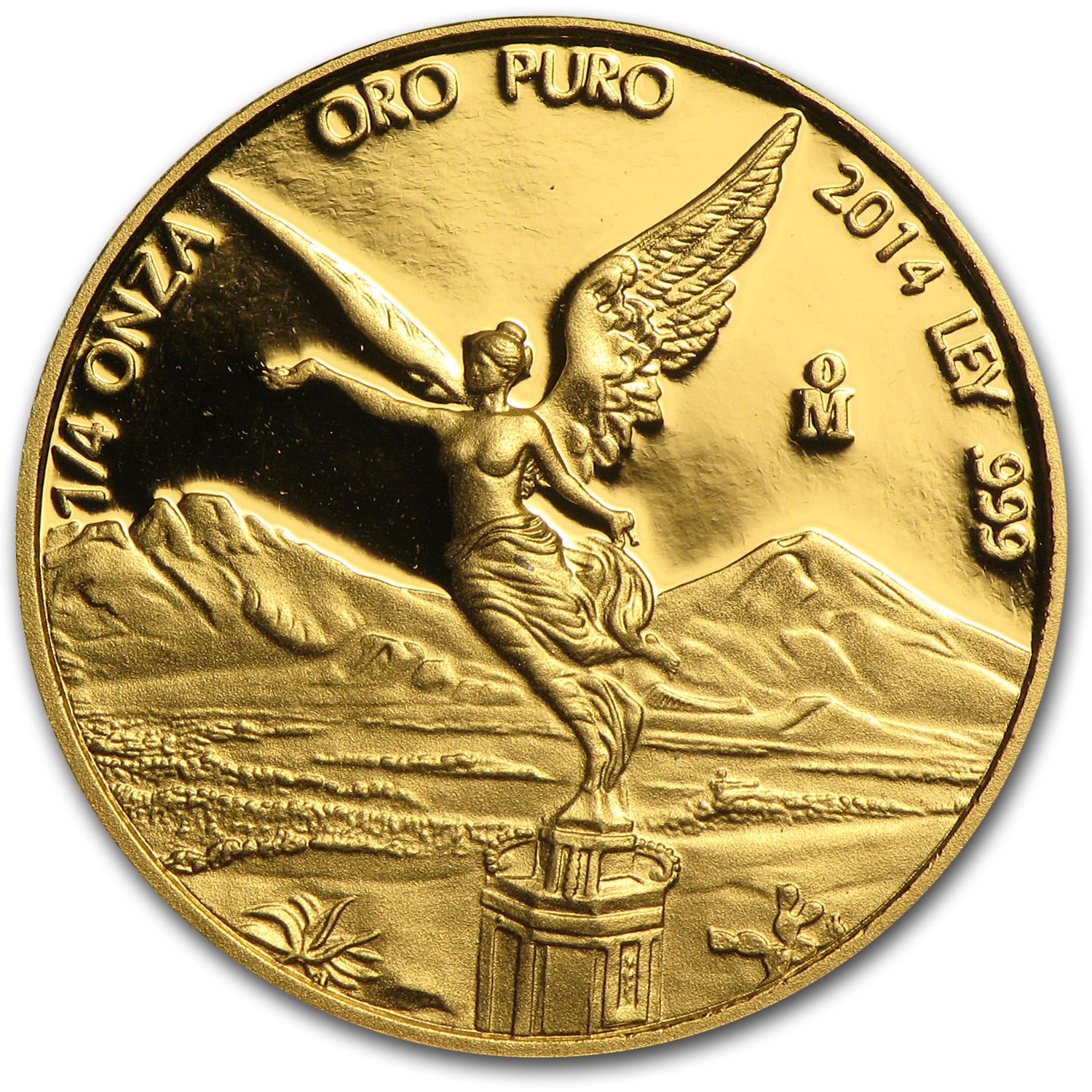 2014 Mexico 1/4 oz Proof Gold Libertad