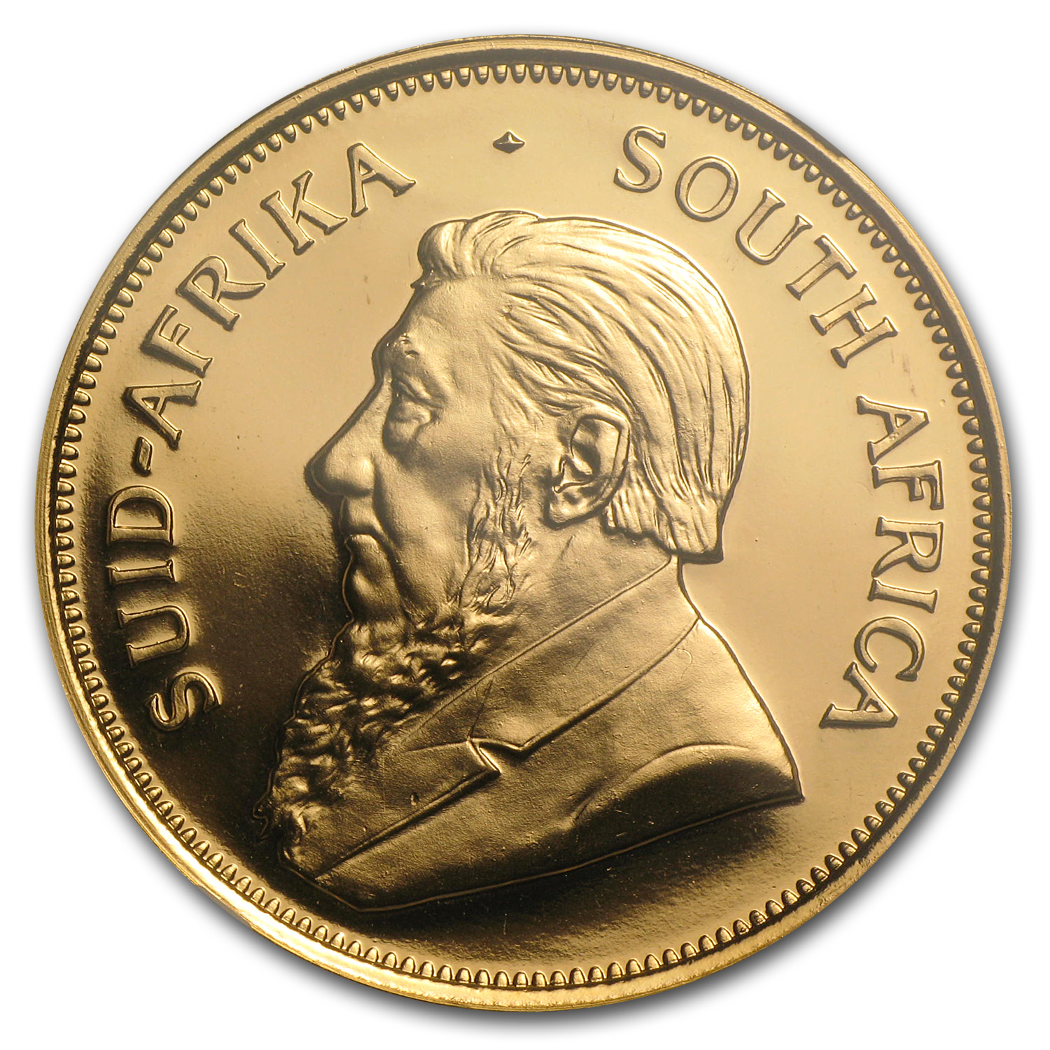 1990 1 oz Gold South African Krugerrand PF-68 NGC (GRC)