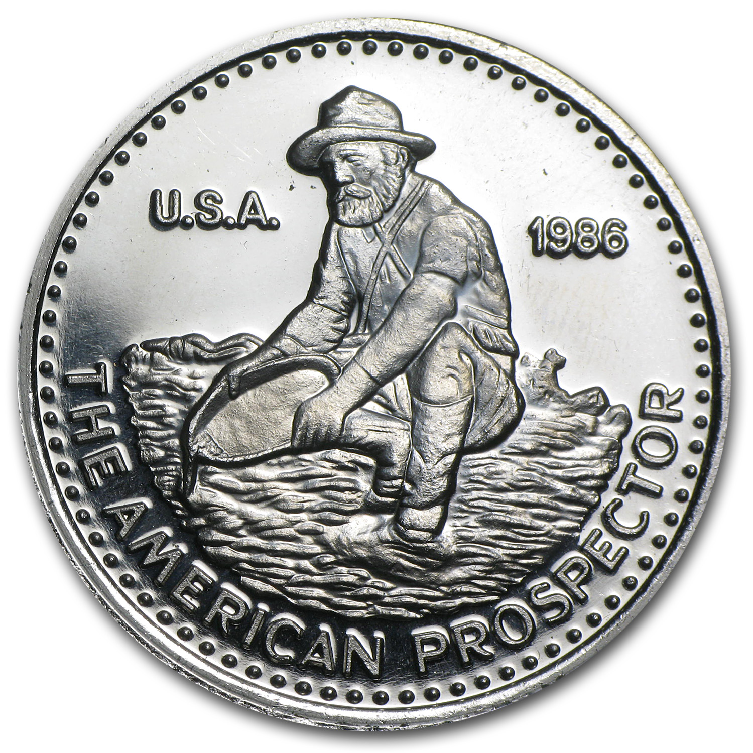 1 oz Platinum Round - Engelhard (.9995 Fine, No Assay)