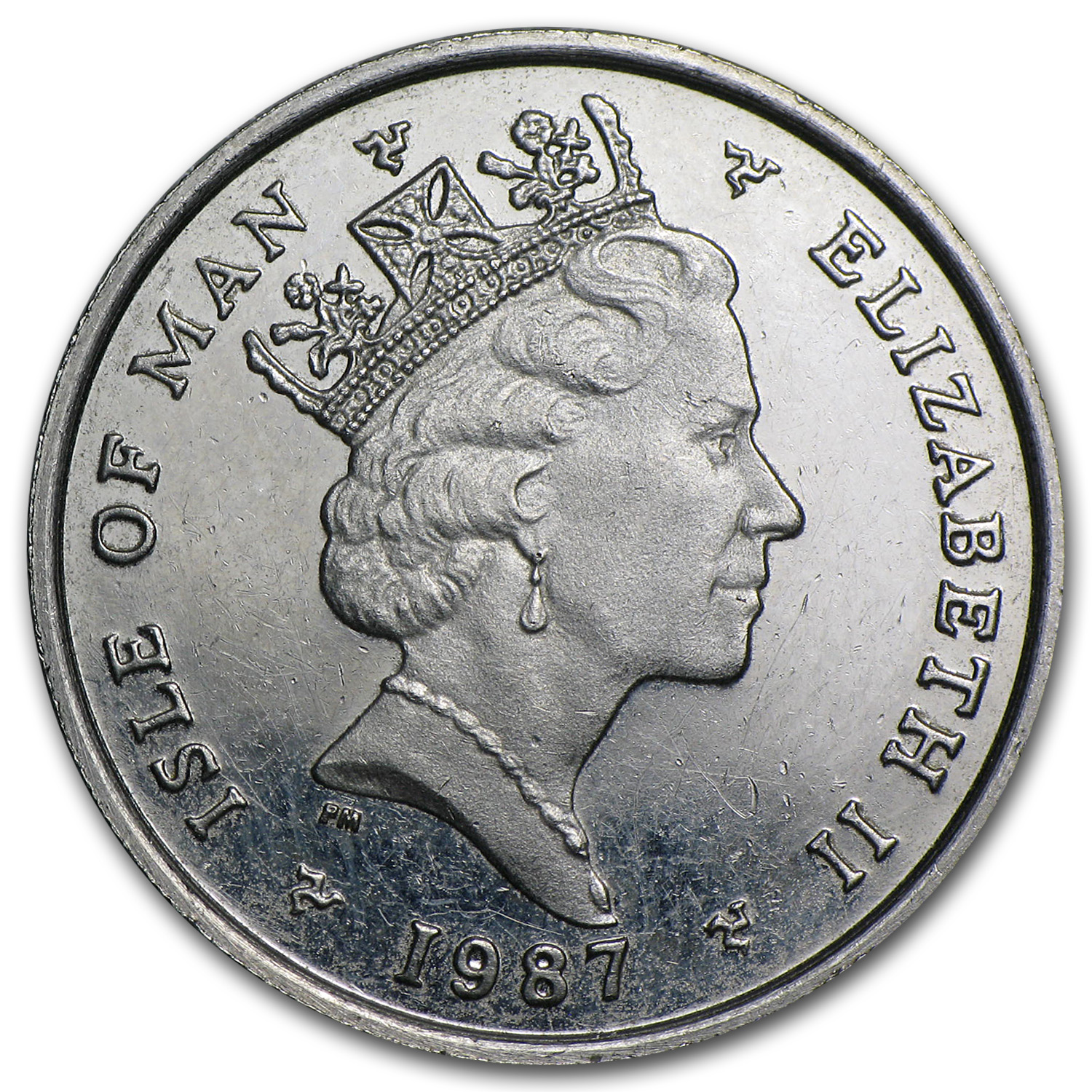 Isle of Man 1/4 oz Platinum Noble (Abrasions)