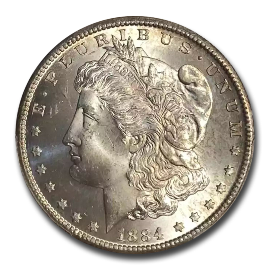 1884-CC Morgan Dollar MS-65+ Plus PCGS