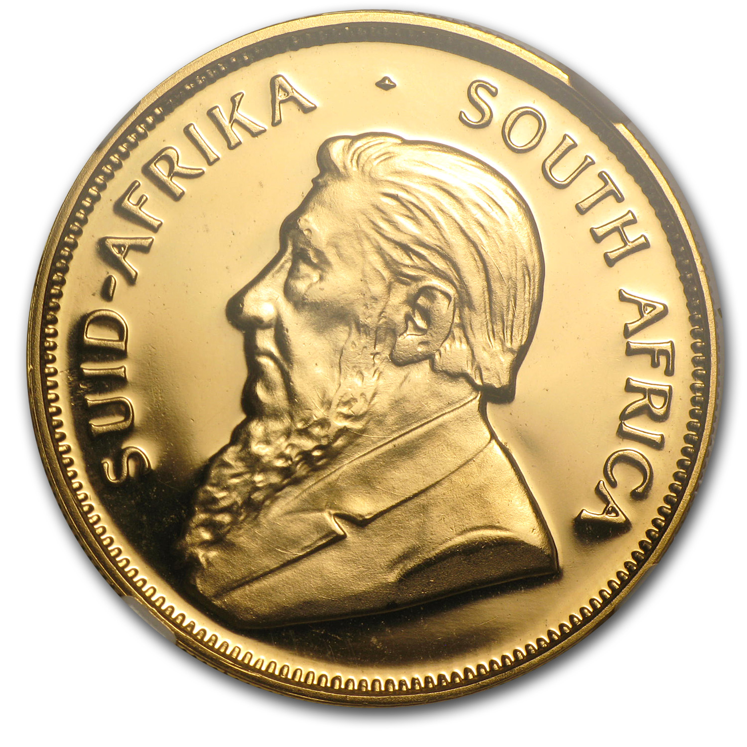 1990 1/2 oz Gold South African Krugerrand PF-68 Cameo NGC (GRC)