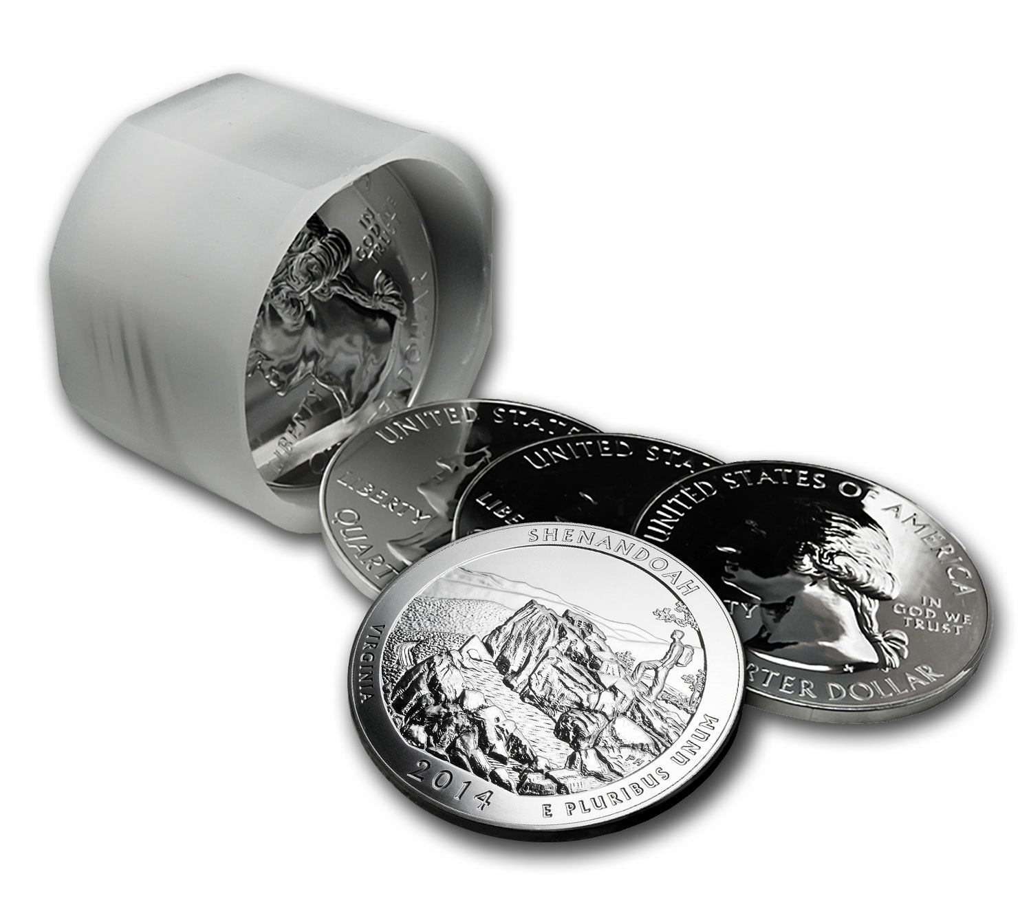 2014 5 oz Silver ATB Shenandoah (10-coin MintDirect®)
