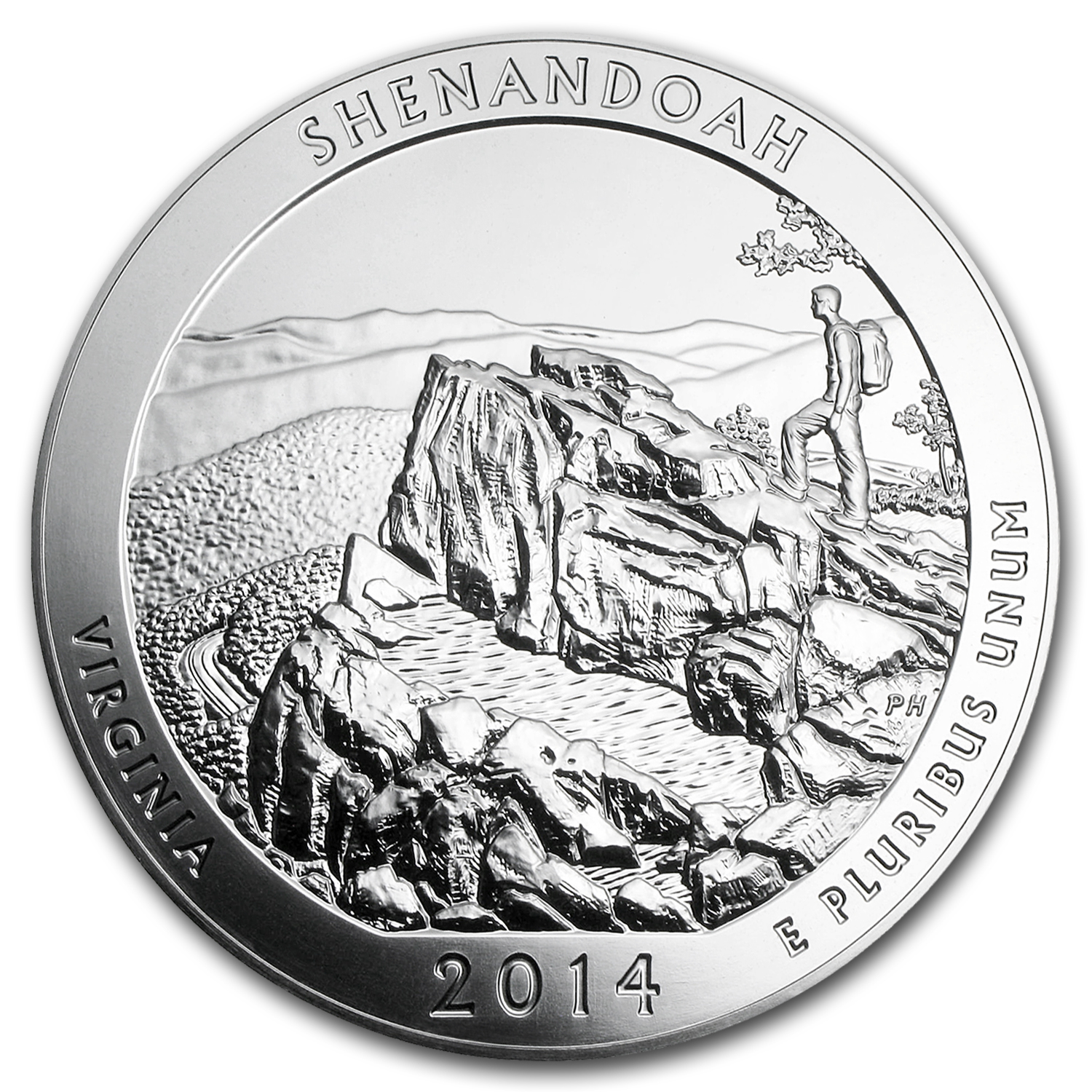 2014 5 oz Silver ATB Shenandoah (10-Coin MintDirect® Tube)