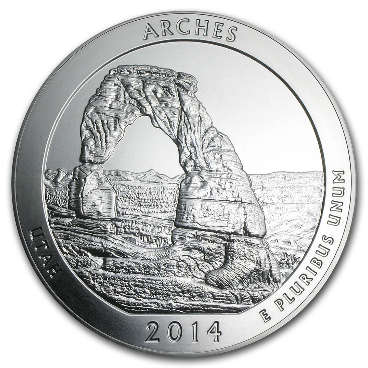 2014 5 oz Silver ATB Arches (10-coin MintDirect®)