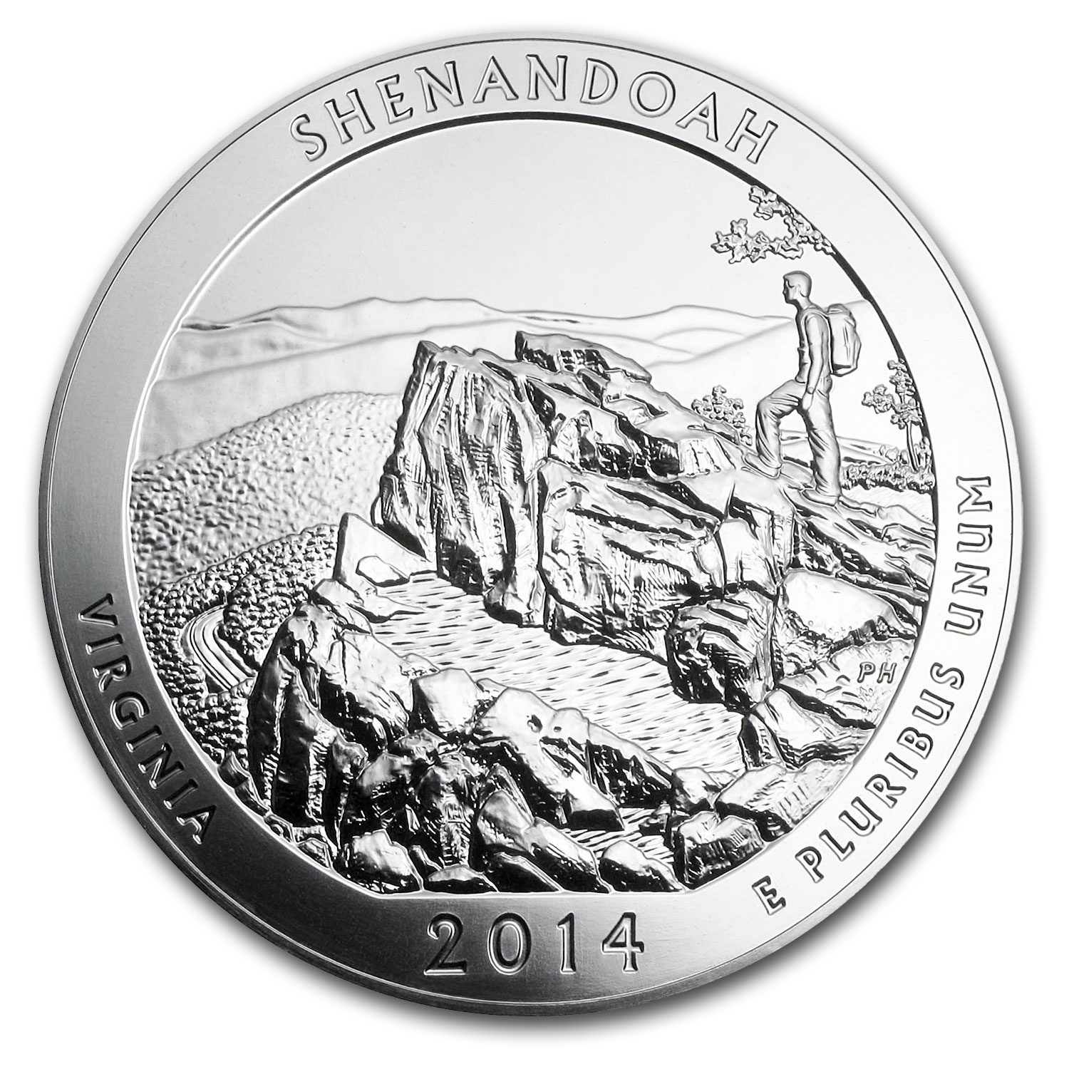 2014 5 oz Silver ATB Shenandoah (Sealed Monster Box)