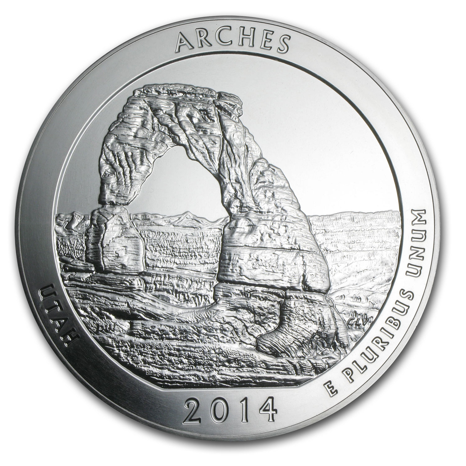 2014 5 oz Silver ATB Arches (Sealed Monster Box)