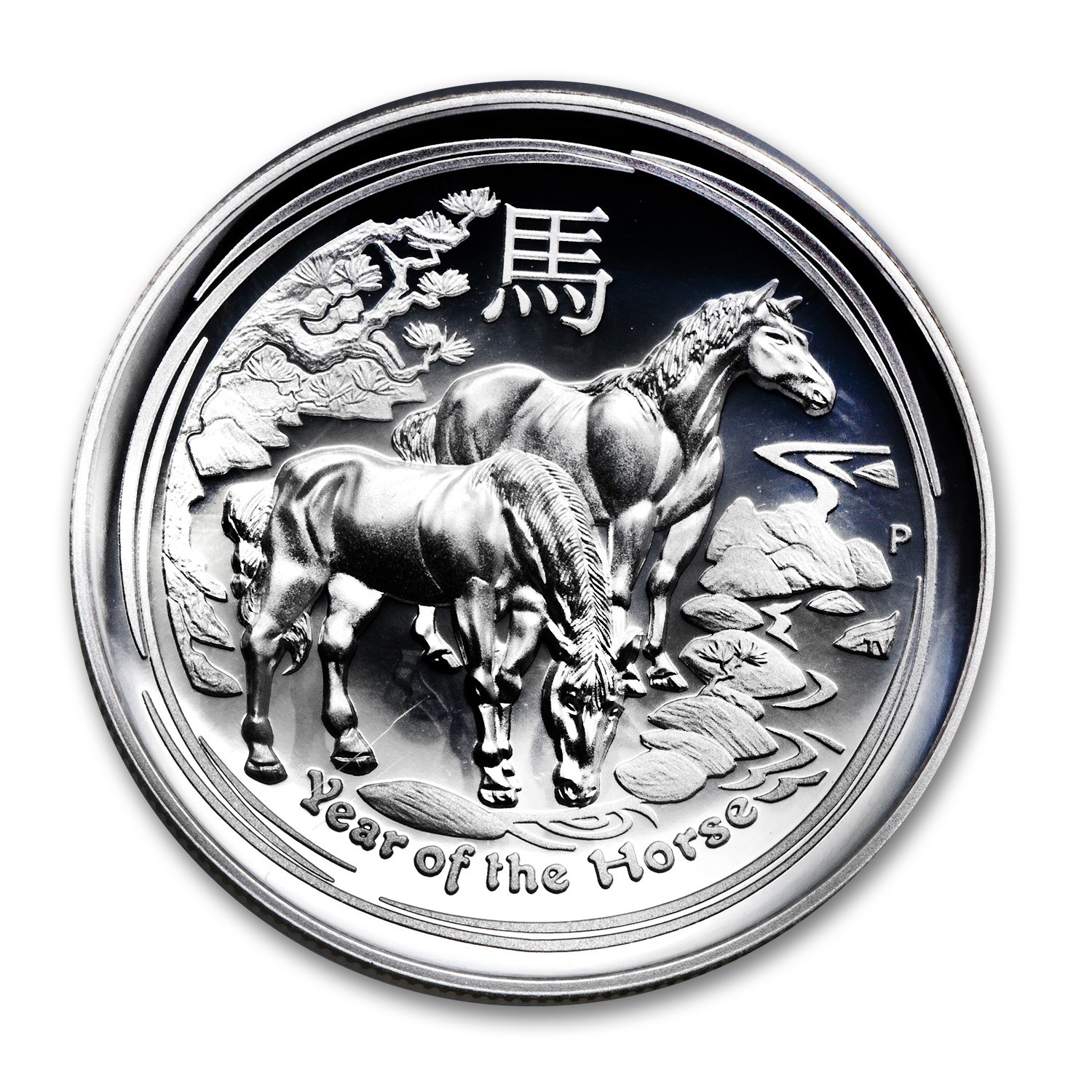 2014 1 oz Silver High Relief Horse Proof PF-70 UCAM NGC