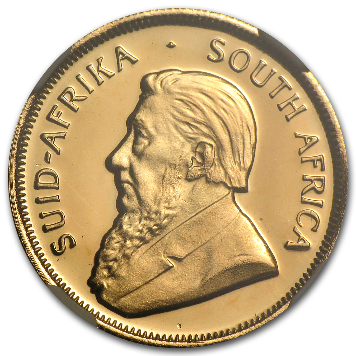1990 1/4 oz Gold South African Krugerrand PF-67 NGC (GRC)