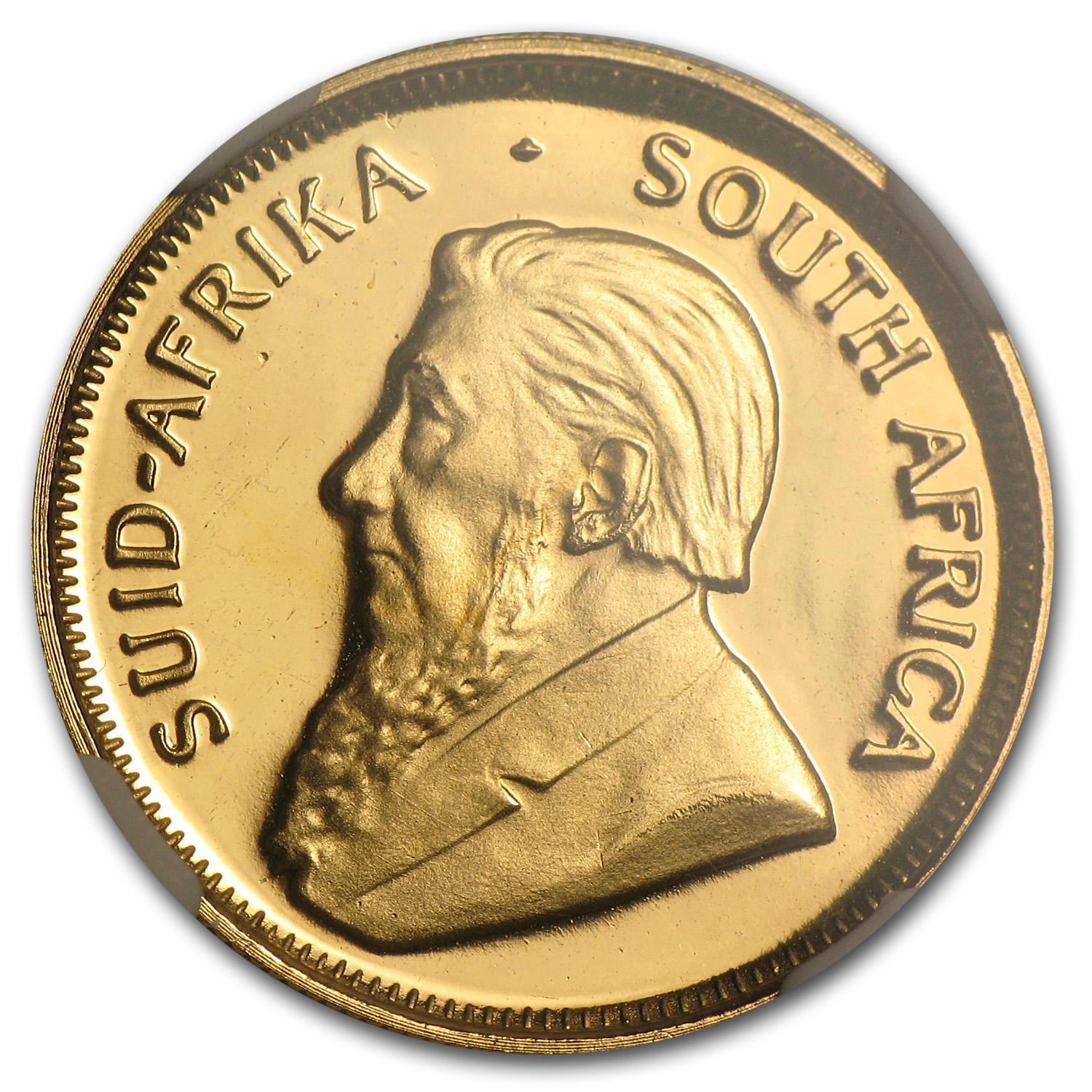 1988 South Africa 1/4 oz Gold Krugerrand PF-68 NGC (GRC)