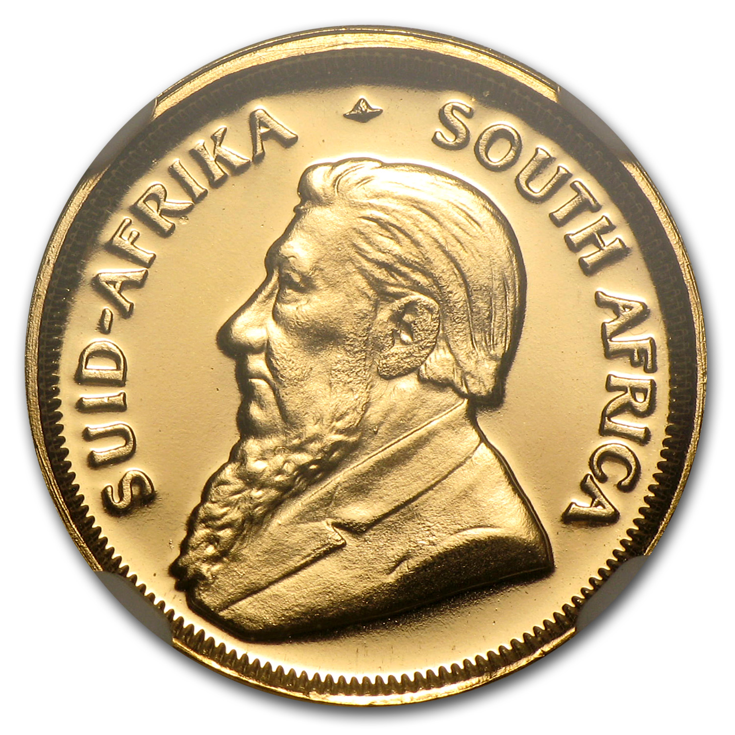 1990 South Africa 1/10 oz Gold Krugerrand PF-69 NGC (GRC)