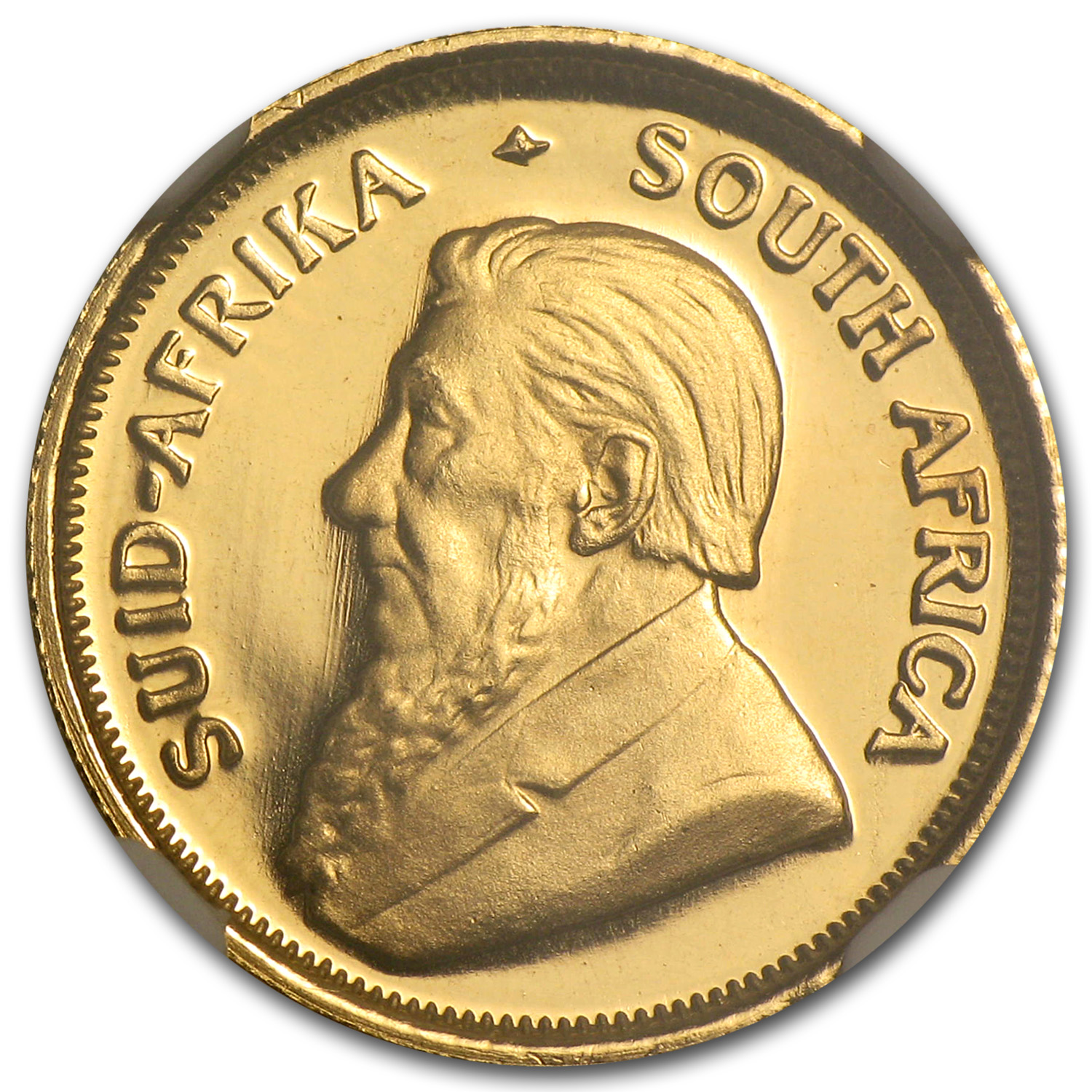 1987 1/10 oz Gold South African Krugerrand PF-68 NGC (GRC)