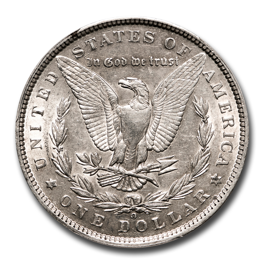 1888-O Morgan Dollar AU-53 PCGS (VAM-4, Hot Lips, Top-100)