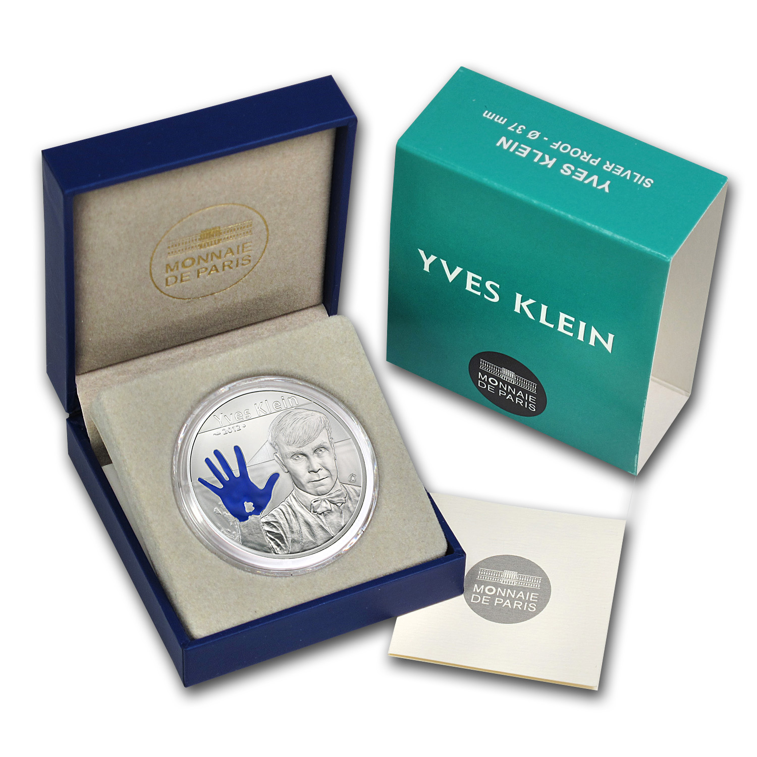 2012 10 Euro Silver Proof European Program - Yves Klein