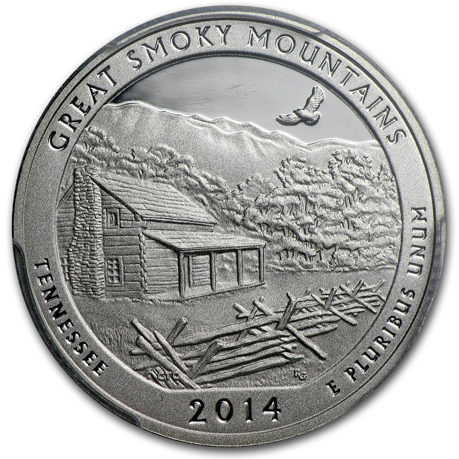 2014-S Silver Proof Quarter ATB Smoky Mountain PR-69 DCAM (FS)
