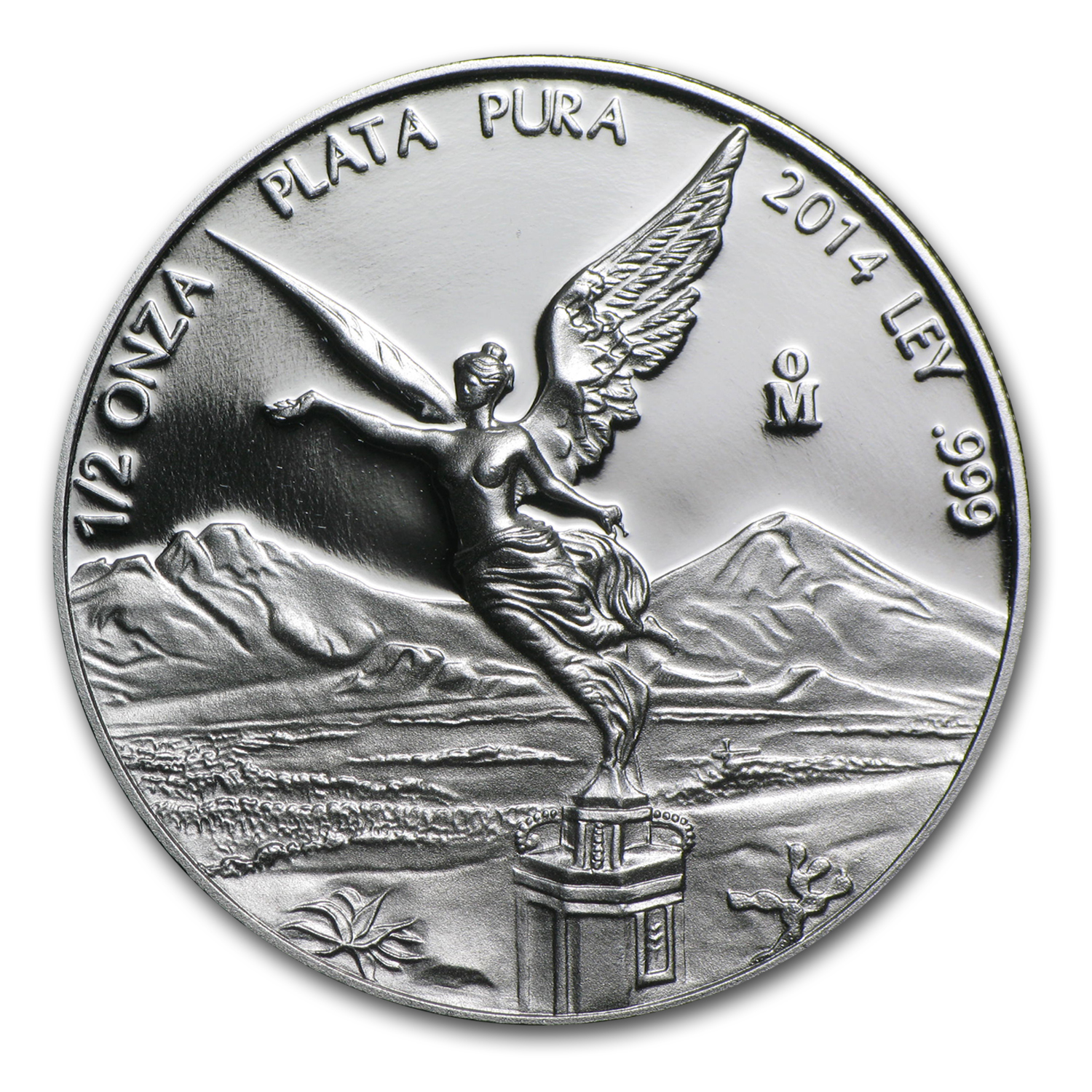 2014 Mexico 1/2 oz Silver Libertad Proof (In Capsule)