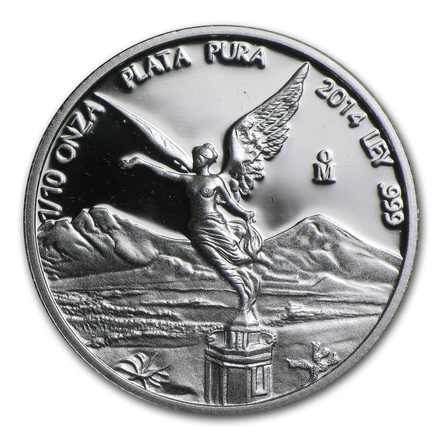 2014 Mexico 1/10 oz Silver Libertad Proof (In Capsule)