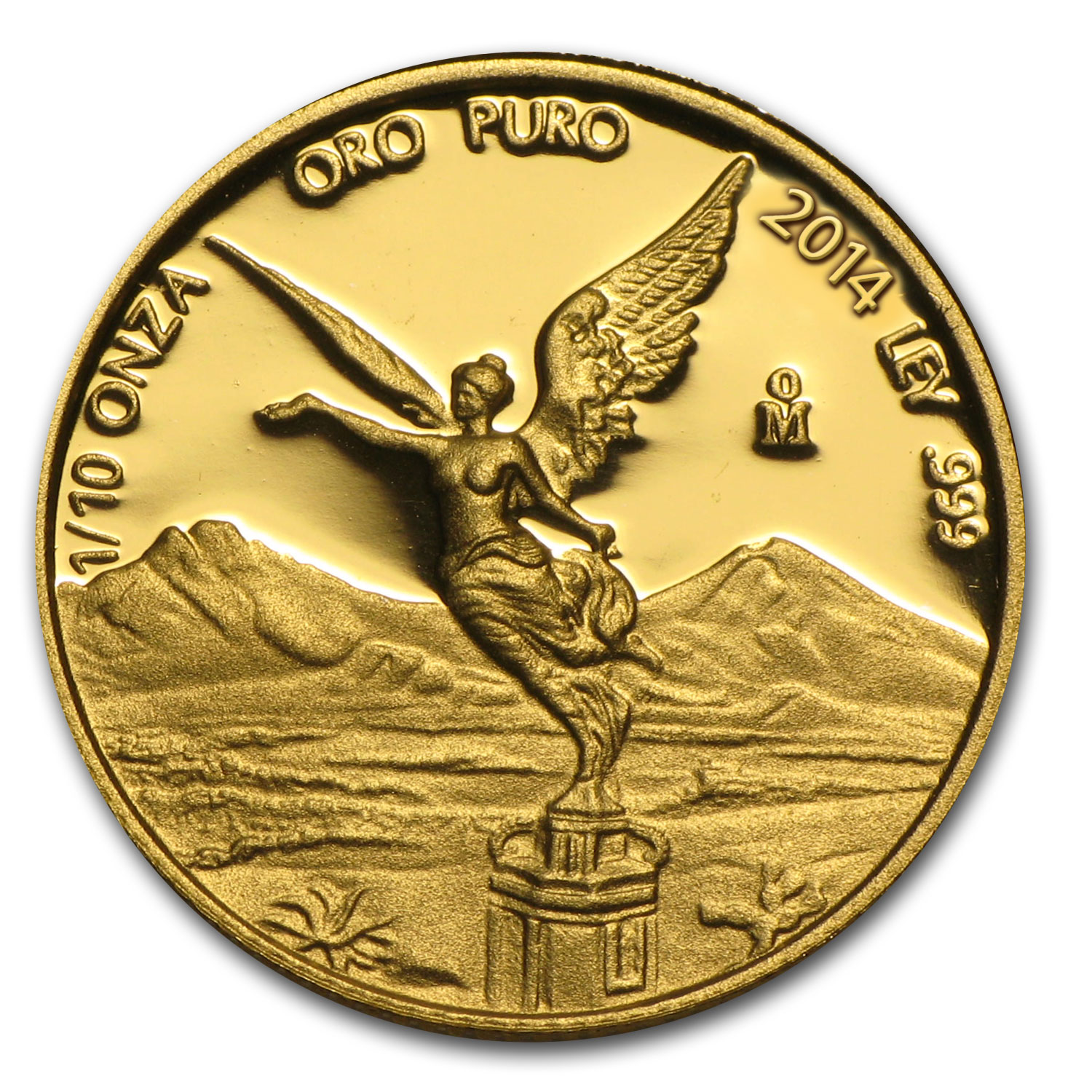 2014 Mexico 1/10 oz Proof Gold Libertad