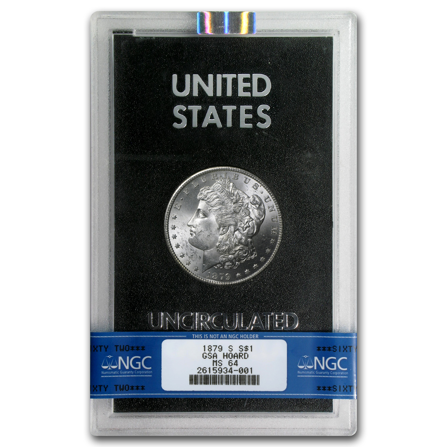 1879-S Morgan Dollar MS-64 NGC - GSA Certified