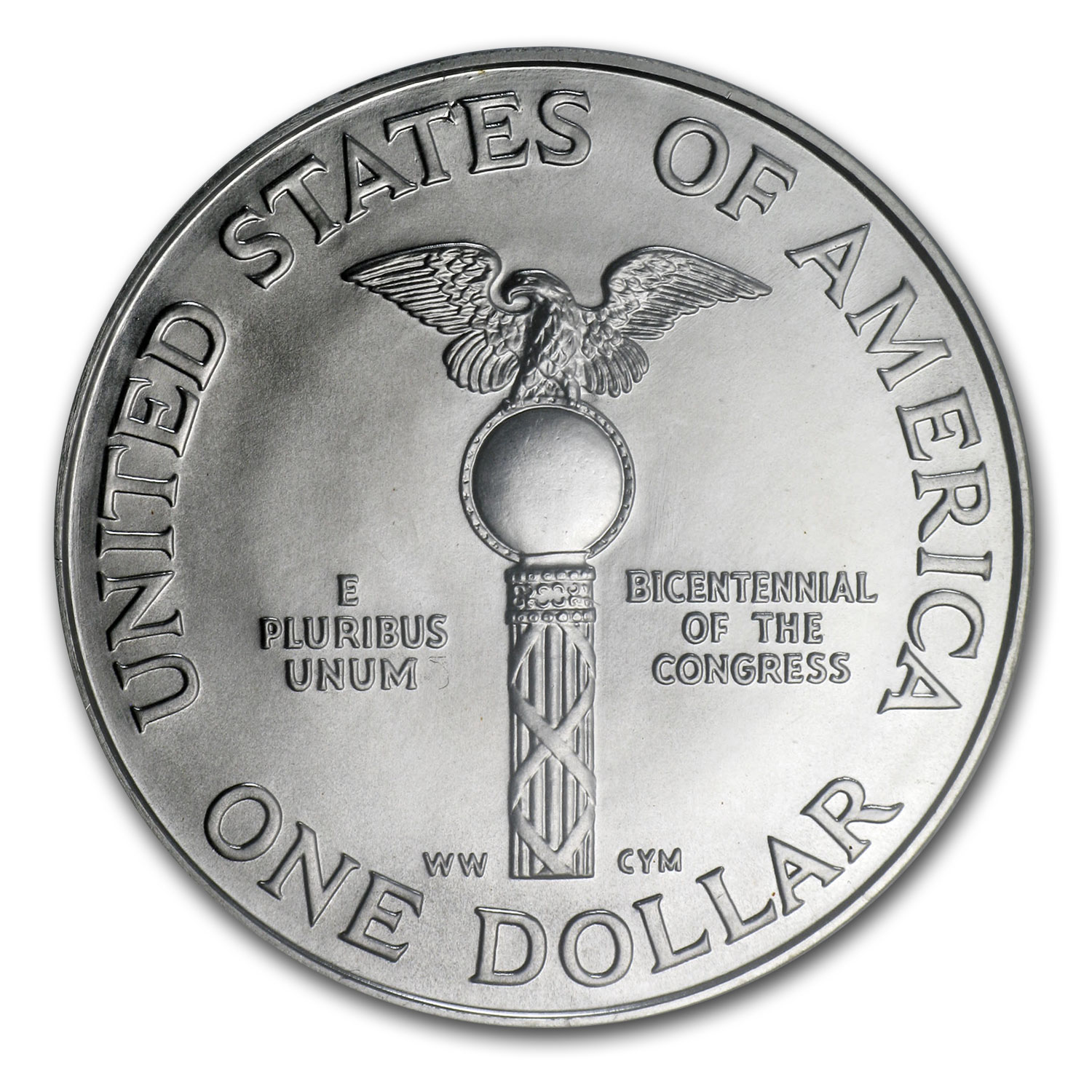 1989-D Congress Bicentennial $1 Silver Commemorative - MS-70 PCGS