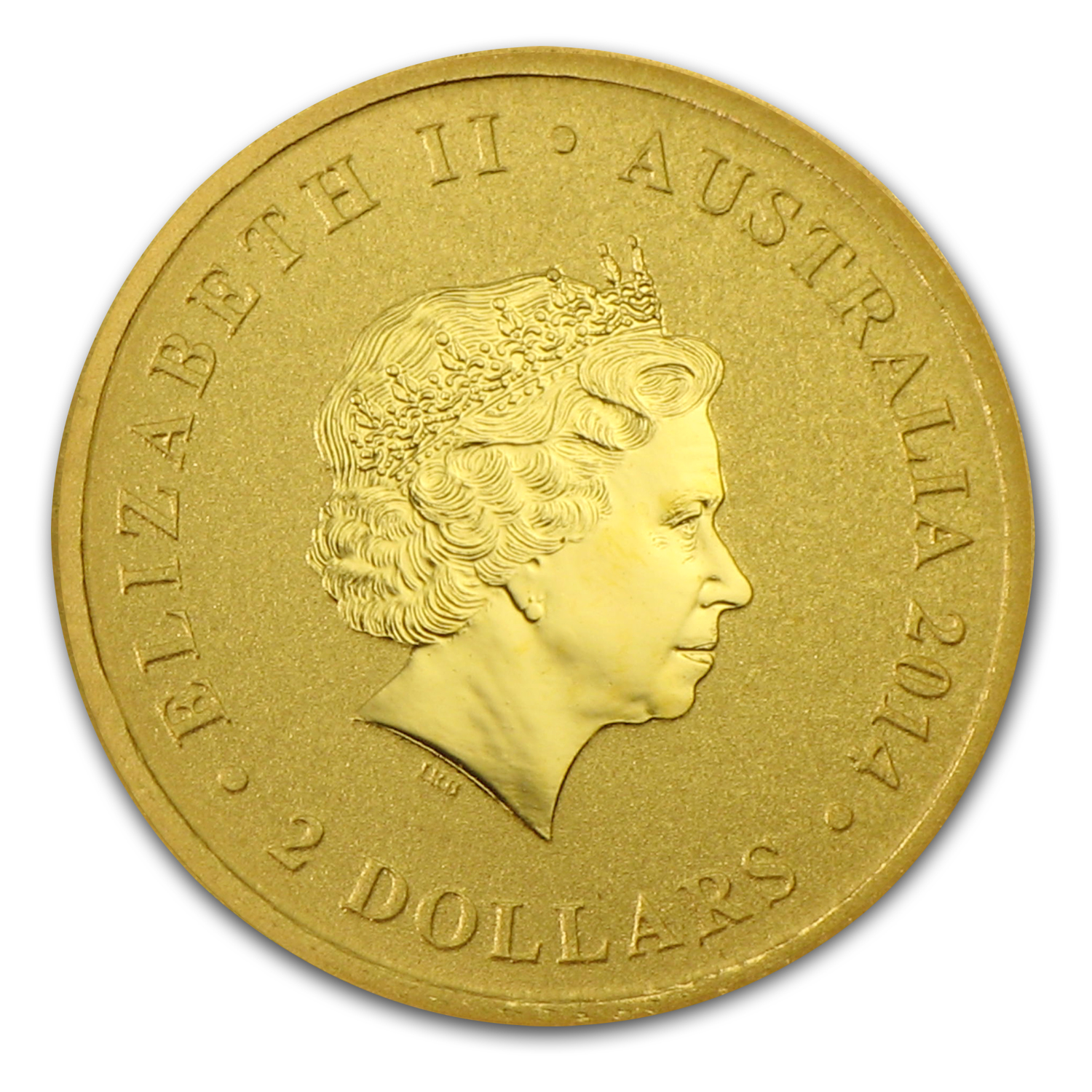 2014 Australia 1 2 Gram Gold Kangaroo Mini Roo Bu All