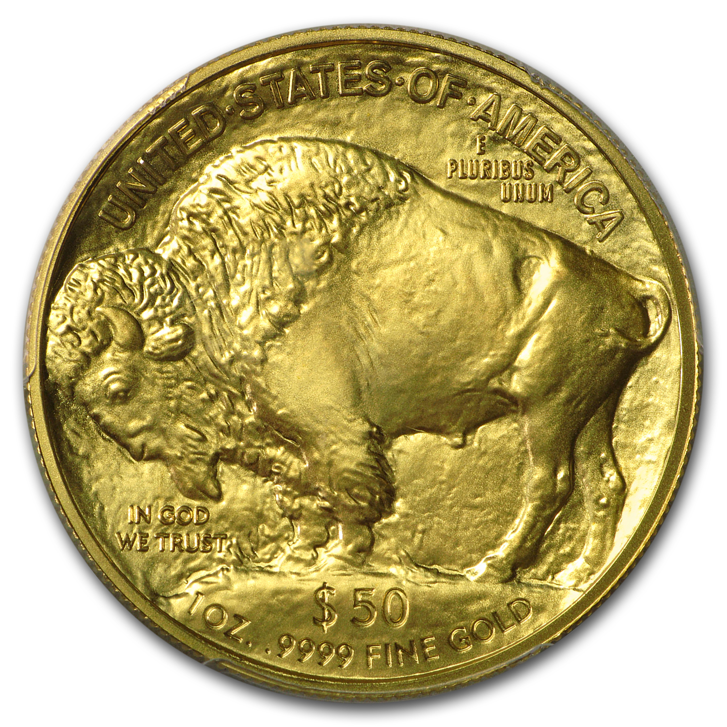 2014 1 oz Gold Buffalo MS-70 PCGS (First Strike)