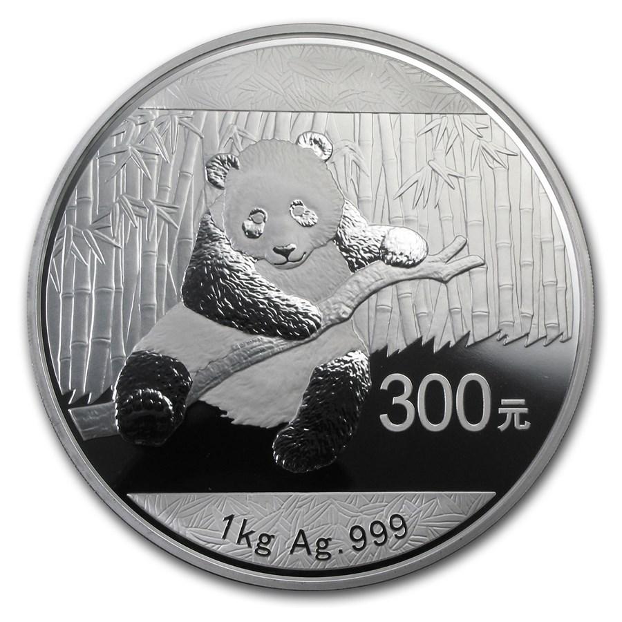 2014 china 1 kilo silver panda proof w box coa gold silver prices. Black Bedroom Furniture Sets. Home Design Ideas