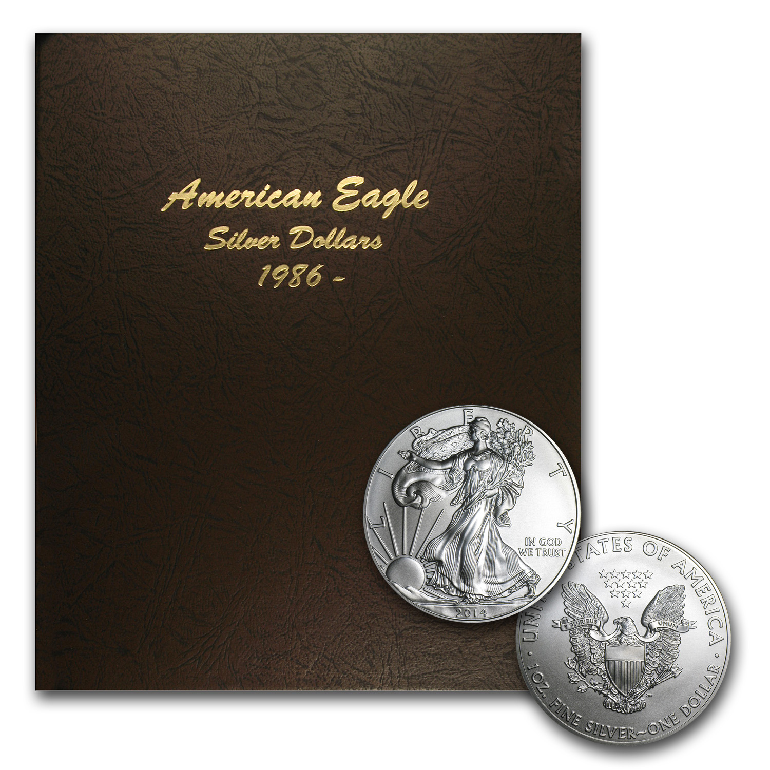 1986-2014 29-Coin Silver American Eagle Set BU