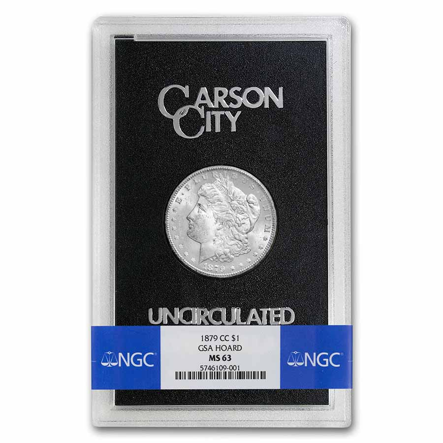 1879-CC Morgan Dollar MS-63 NGC - GSA Certified