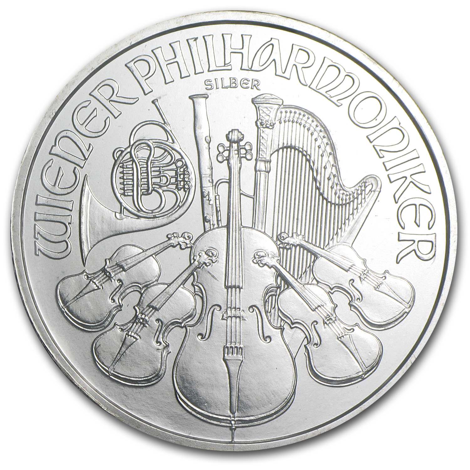 2008 1 oz Silver Austrian Philharmonic (Specially Sealed)