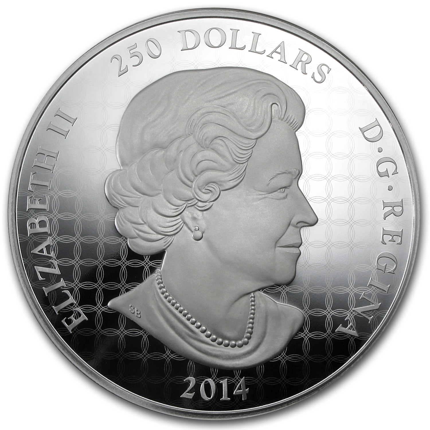 2014 1 Kilo Silver Canadian $250 - In the Eyes of the Snowy Owl