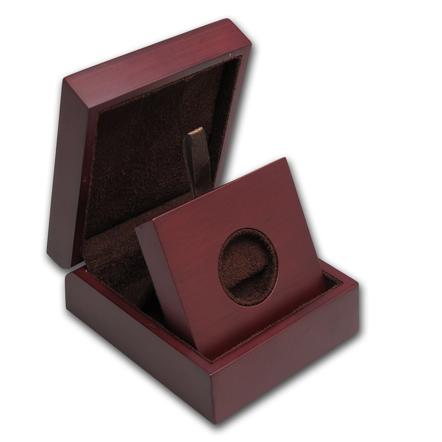 APMEX Wood Presentation Box - Fits Miscellaneous Coins