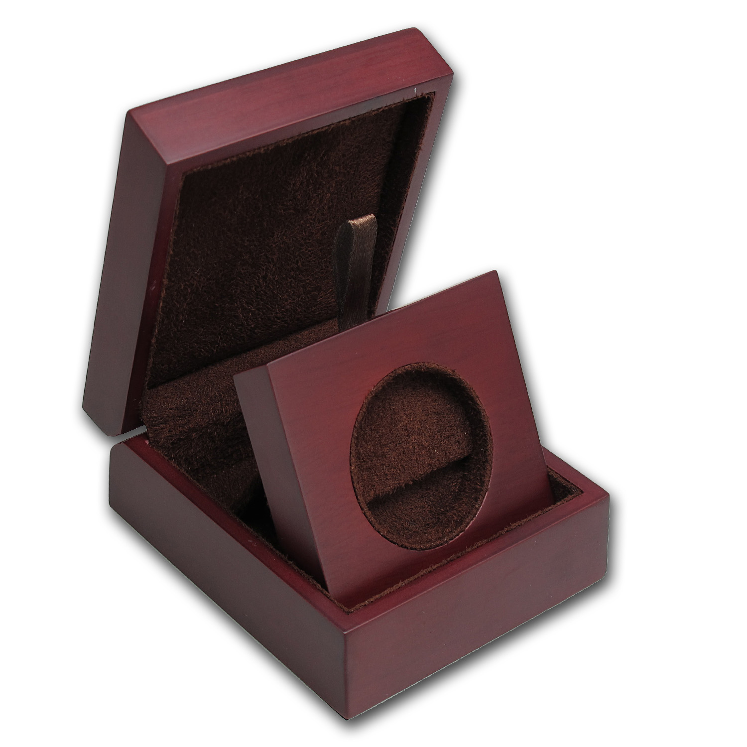 APMEX Wood Presentation Box - Fits Miscellaneous Gold & Silver