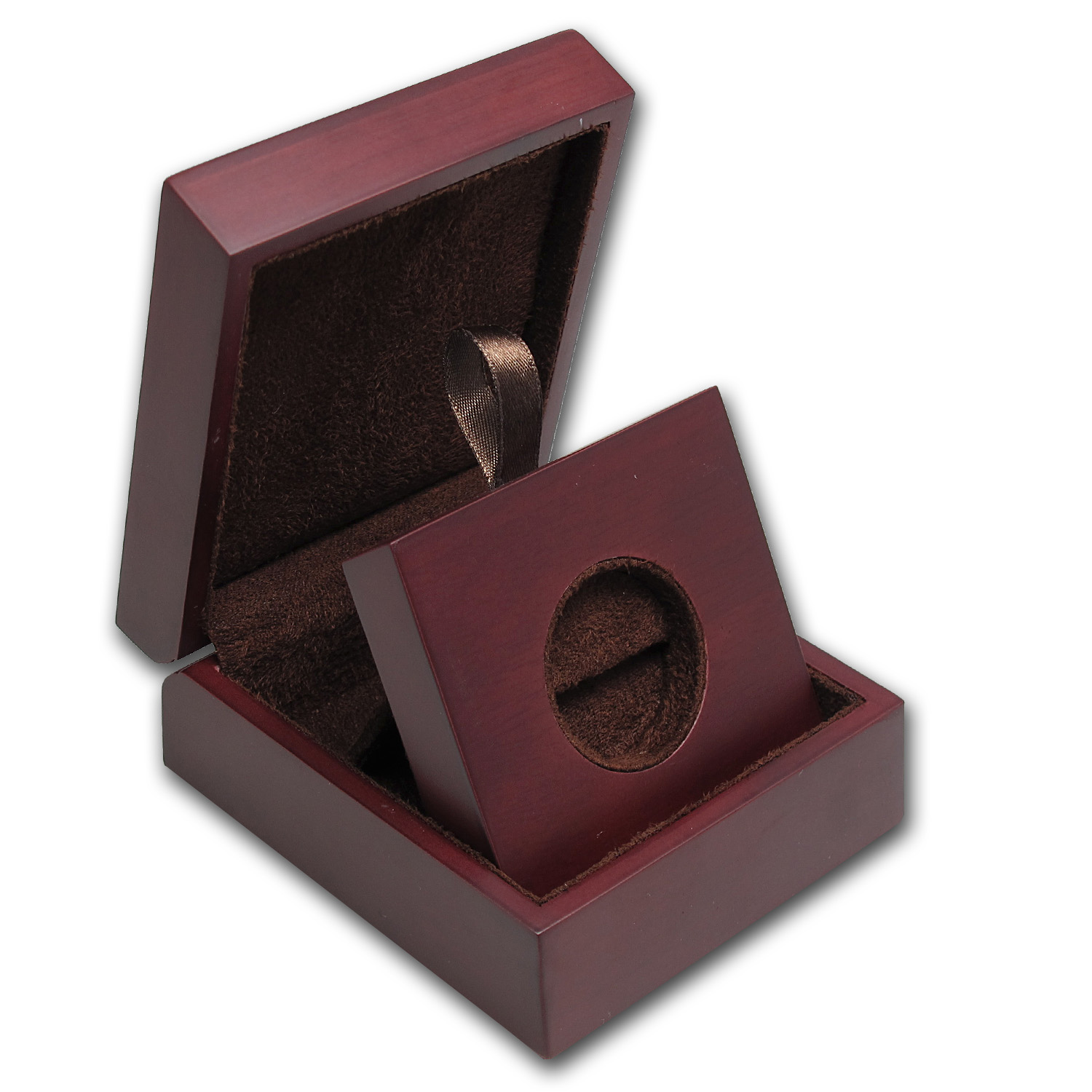 APMEX Wood Presentation Box - 1/2 oz Perth Gold Series 2