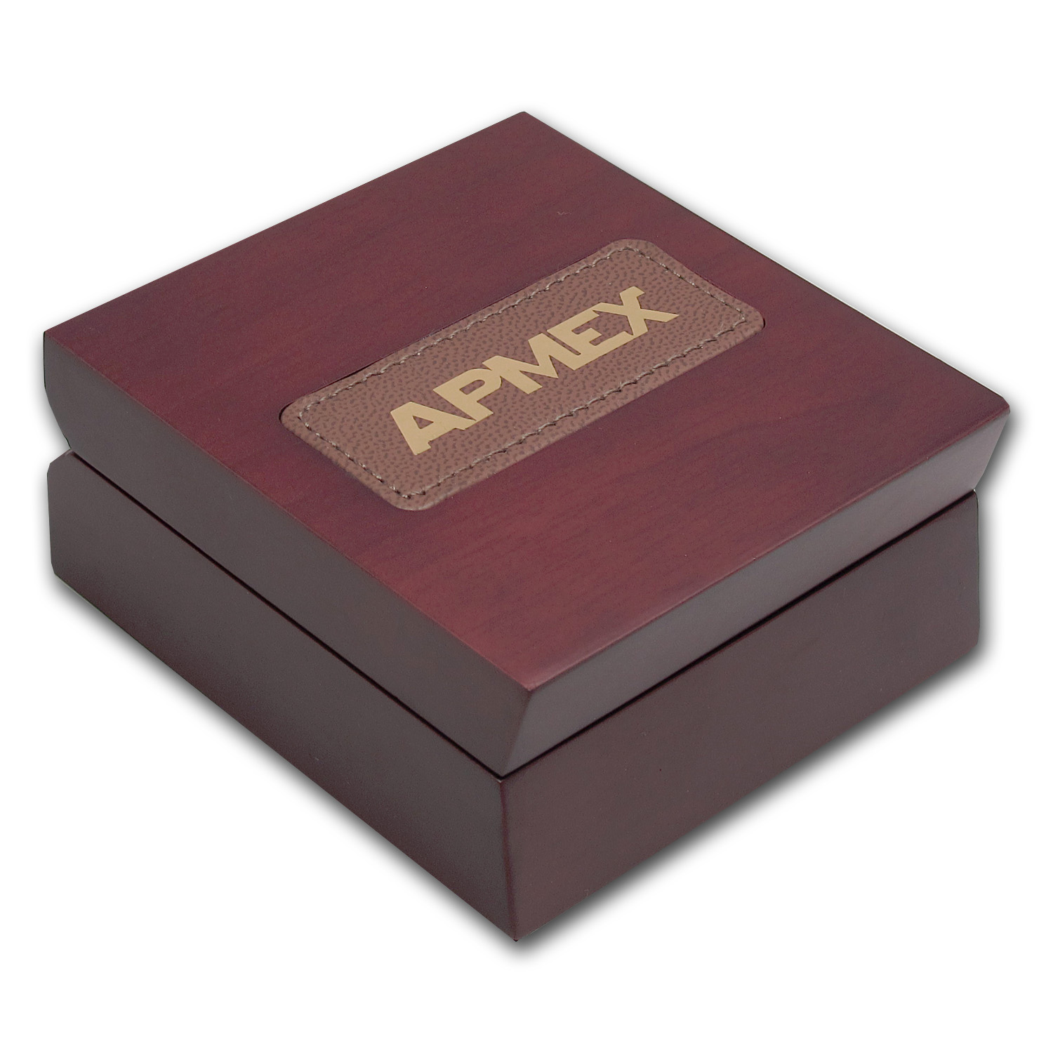 APMEX Wood Presentation Box - 1 oz & Under ASSAY Gold/Silver Bars