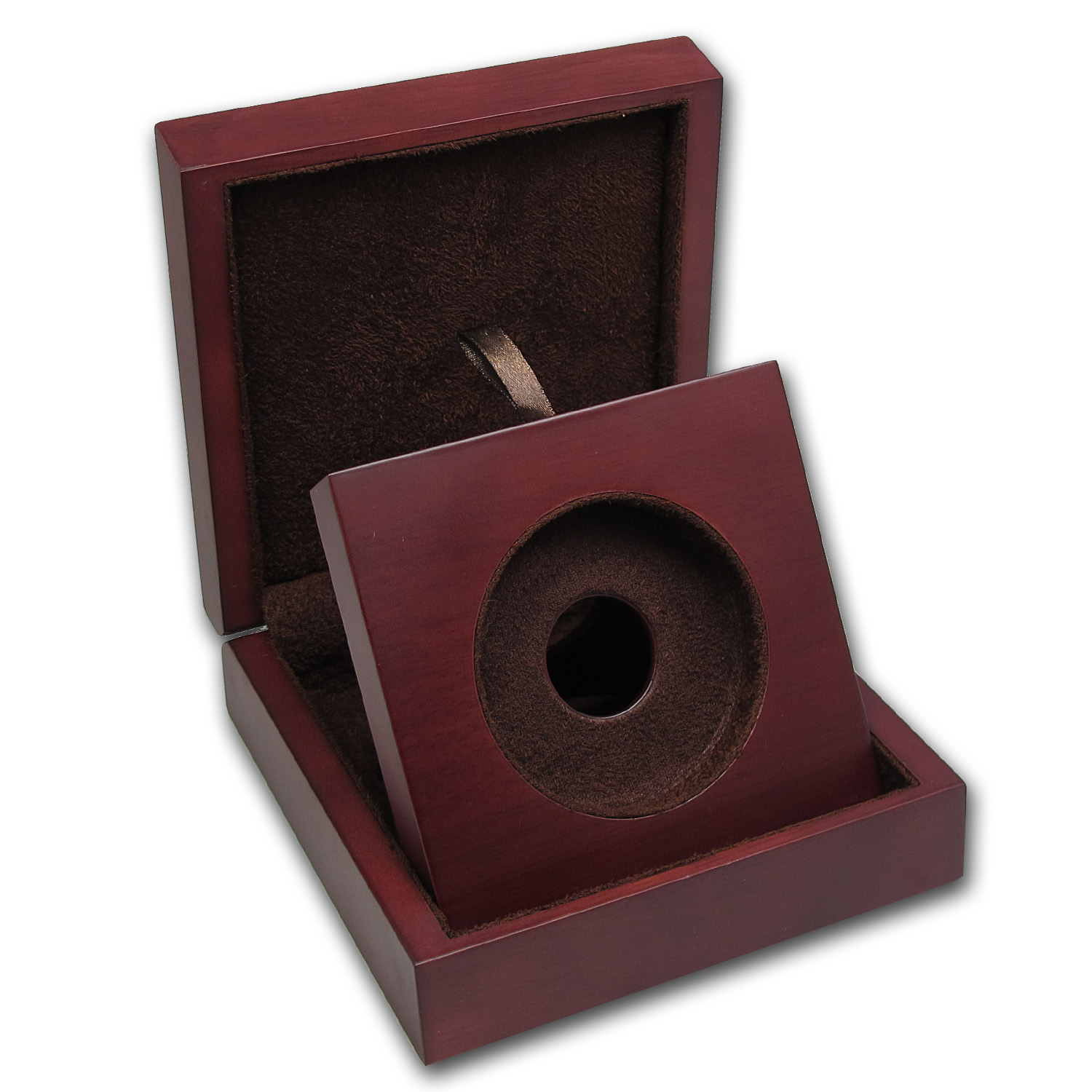 APMEX Wood Presentation Box - Perth 10 oz Gold Round Series 1