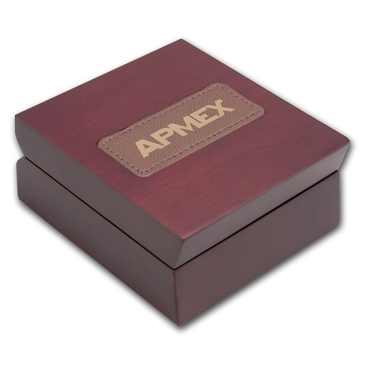 APMEX Wood Presentation Box - 1 kilo Pamp Gold Bar