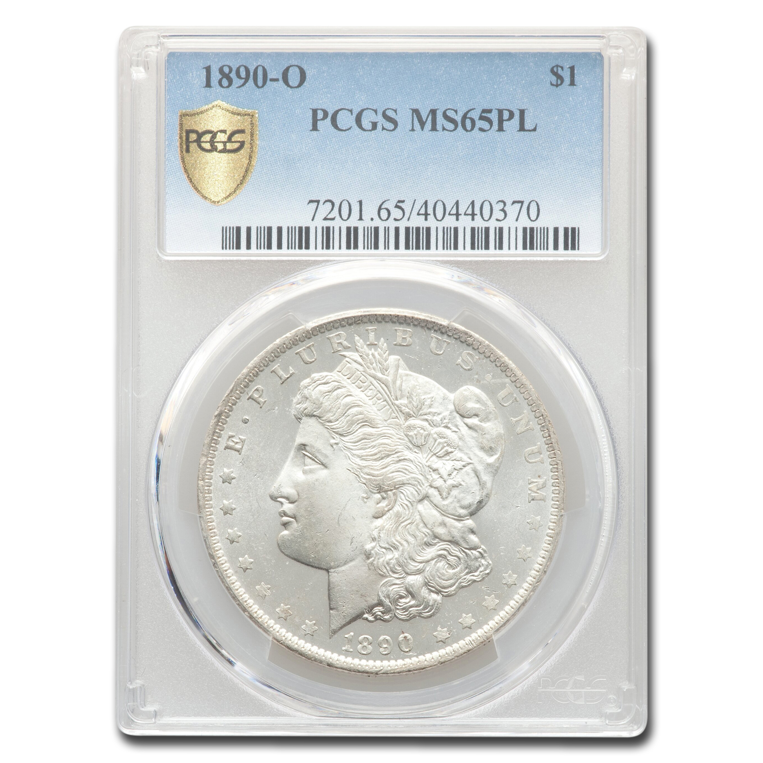 1890-O Morgan Dollar - MS-65 PL Proof Like PCGS