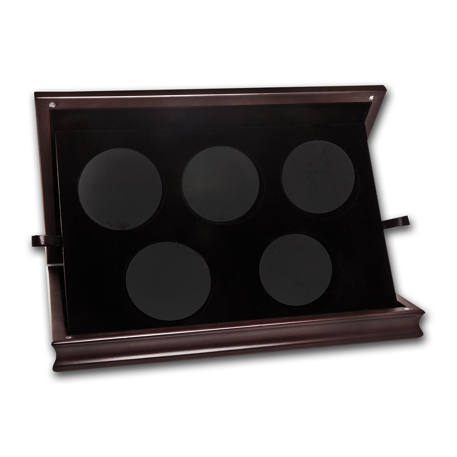 Single Tier Wood Display Box for 5-Coin ATB sets