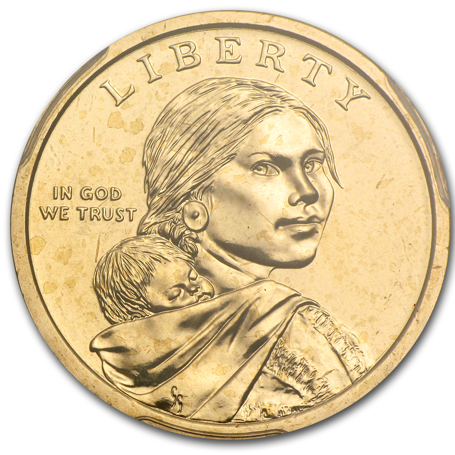 2013-D Native American Sacagawea Dollar Position A MS-66 PCGS