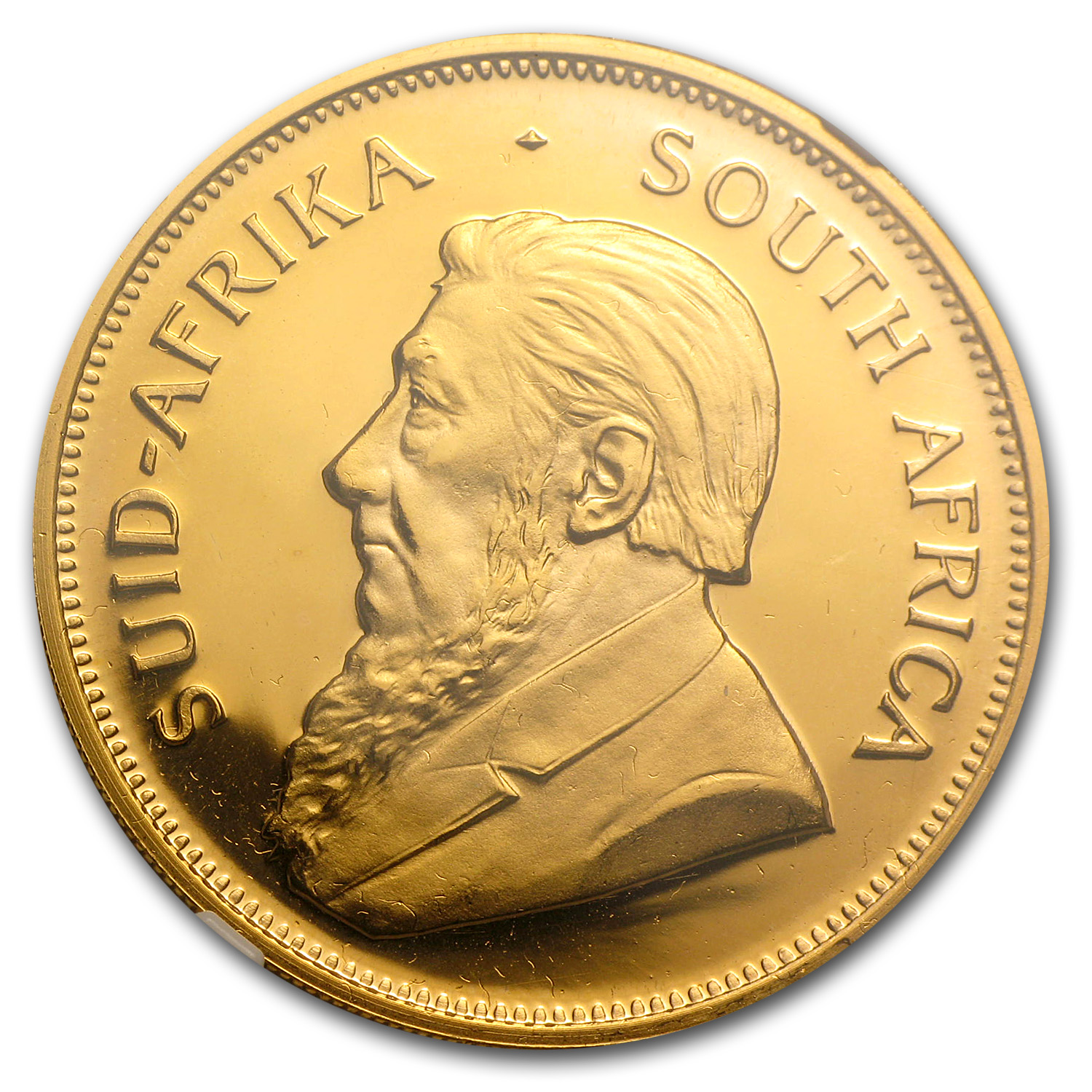 1987 1 oz Gold South African Krugerrand PF-68 NGC (GRC)
